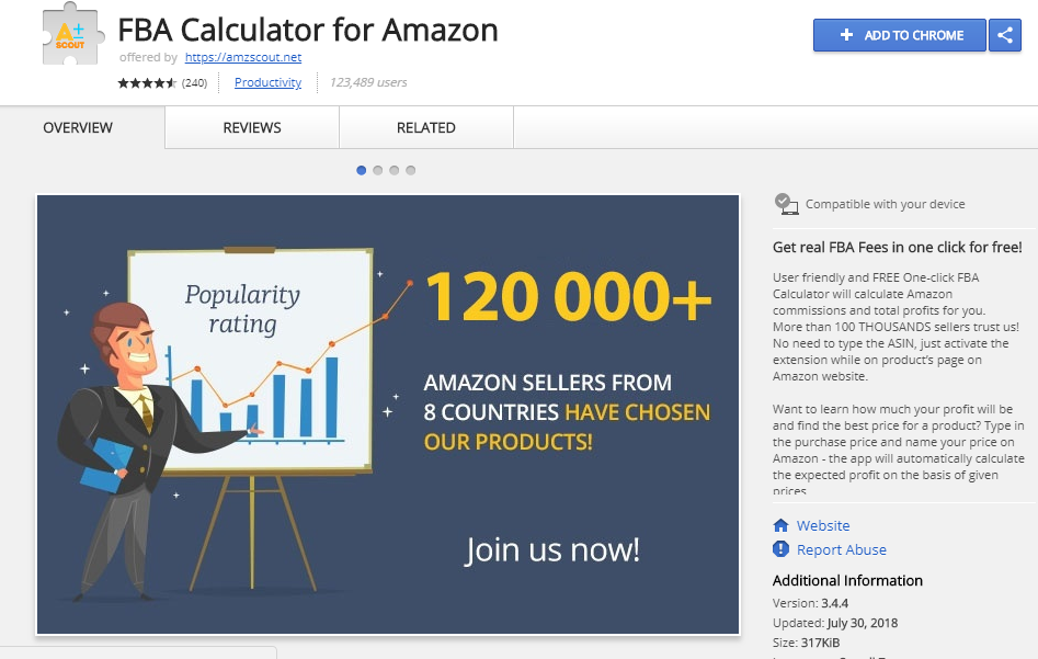 The FBA Calculator for Amazon